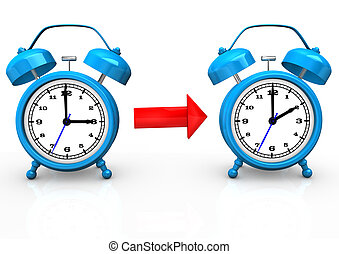 Time Change To Standard Time - Time change to standard time...
