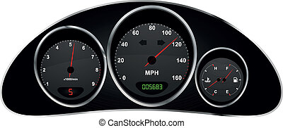 dashboard car - illustration of dashboard of car