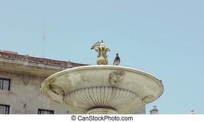 Fountain and monument, Havana, Cuba