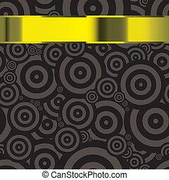 Modern wallpaper gold template