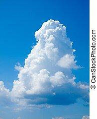 Tropical Sky - Cumulus clouds