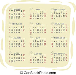 2013 vector calendar - Full editable 2013 vector calendar...