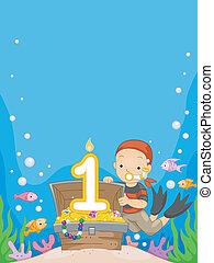 Underwater Birthday