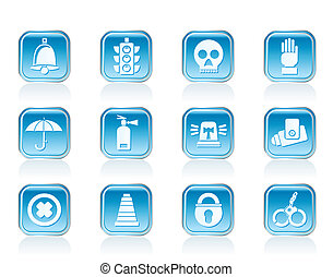Surveillance and Security Icons
