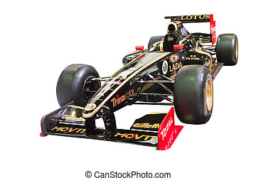 BANGKOK-DEC 01: Formular 1 racing car Lotus-Renault Team ,...