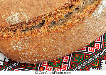 Ukrainian traditional rye bread