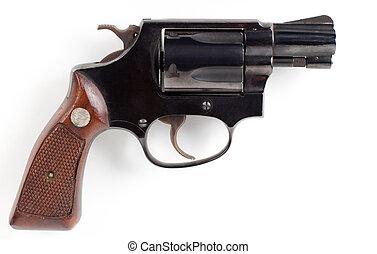 pequeno, pistola