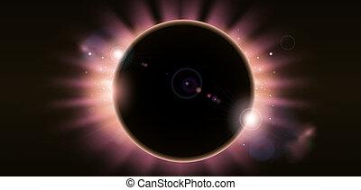 Eclipse background