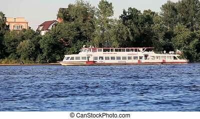 River ship - River pleasure boat Moscow