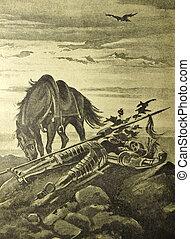 Vintage illustration - Vintage illustration from the book...