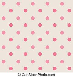 Retro dots seamless pattern