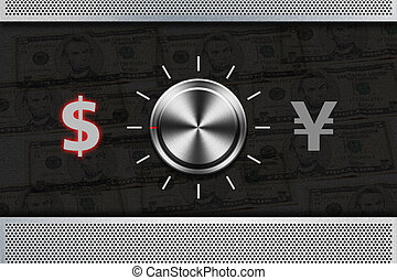 Button Selector money sign quot;DOLLARquot; - Button...