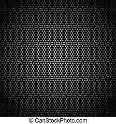 Speaker grille illustration