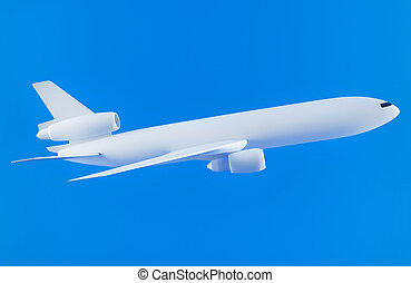 Airplane - 3D rendering of a generic airplane
