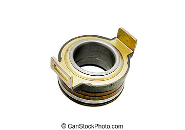 Auto Parts - Car engine clutch on a white background