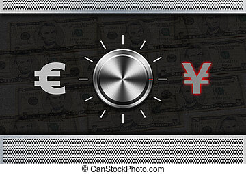 Button Selector money sign quot;YENquot; , - Button Selector...