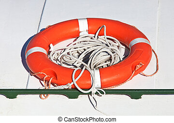lifeguard - red lifeguard used in case of distress