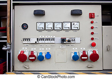 electrical panel - distribution panel connections and...