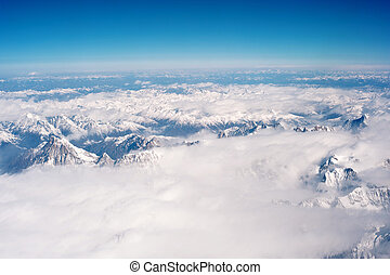 Aerial photography, Tibet, the Himalayan Hengduan Mountains