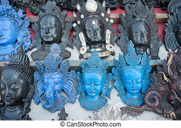Nepal statues, temples and decorative arts