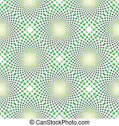 cyclic optical illusion (Vector)