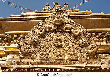 Swayambhunath Stupa - the holiest stupa of tibetan buddhism...