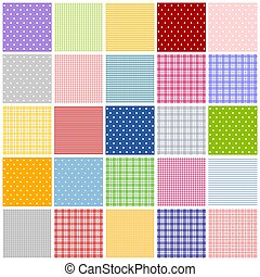 patchwork patern - Colorful graphic illustration