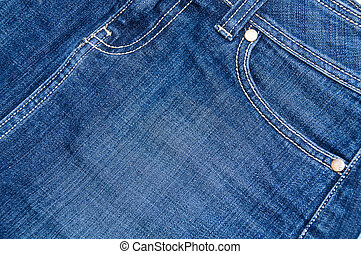 Jeans detail - Close up of a jeans to make some geometric...