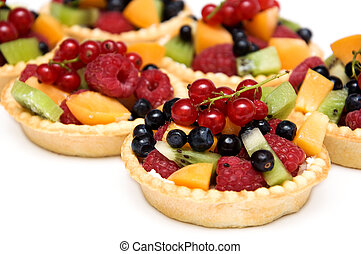 Sweet berries dessert