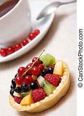 Sweer berries dessert