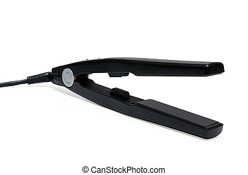 Household Items: Hair Straightener Iron - Black hair...