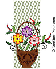 Decor with flowers