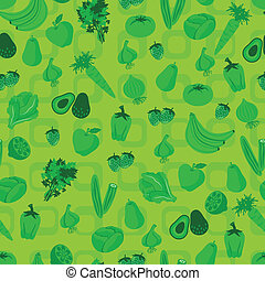 vegetable and fruit pattern