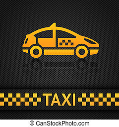 Racing background template, taxi cab vector backdrop. Vector...