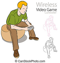 Wireless Video Game Controller