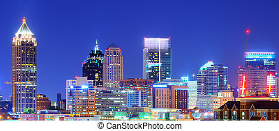 Downtown Atlanta - Skyline of downtown Atlanta, Georgia