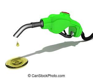 Petrol filling pistol