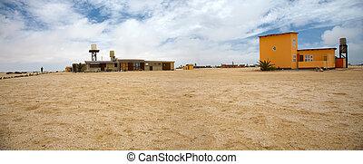 wlotzkasken - village of wlotzkasken in namibia close to...