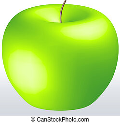 Pretty Green Apple