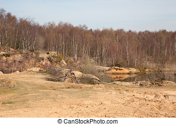 Nature Reserve - Photo of a nature reserve made from an old...