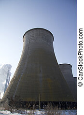 Man-made landscape-1. - Heat pipe cooling power stations-1.