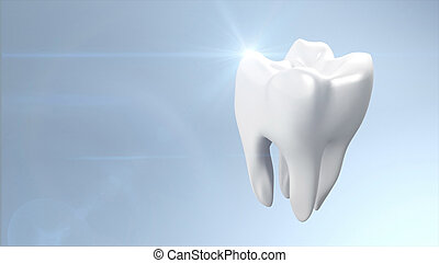 health tooth flare - The health of white tooth for tooth...