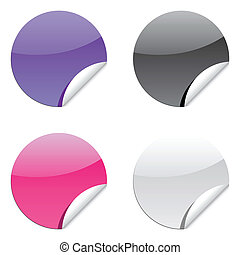 glossy label sticker for sale price tags