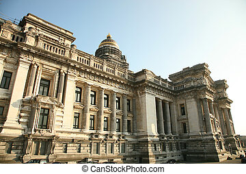 Palais de Justice Brussels - The Court of Laws...