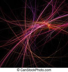 elegant essence rays - arc elegant essence rays on dark...