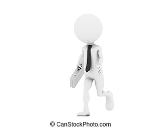 3d businessman - from my 3d human collection