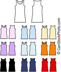 top tank linen garment
