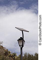 Solar energy on a cloudy day