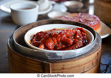 spicy chicken feet