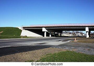 Highway Bridge Construction - New Highway Bridge...